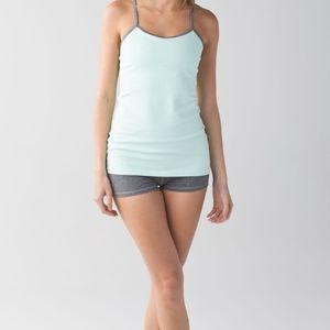 Lululemon mint green workout shirt